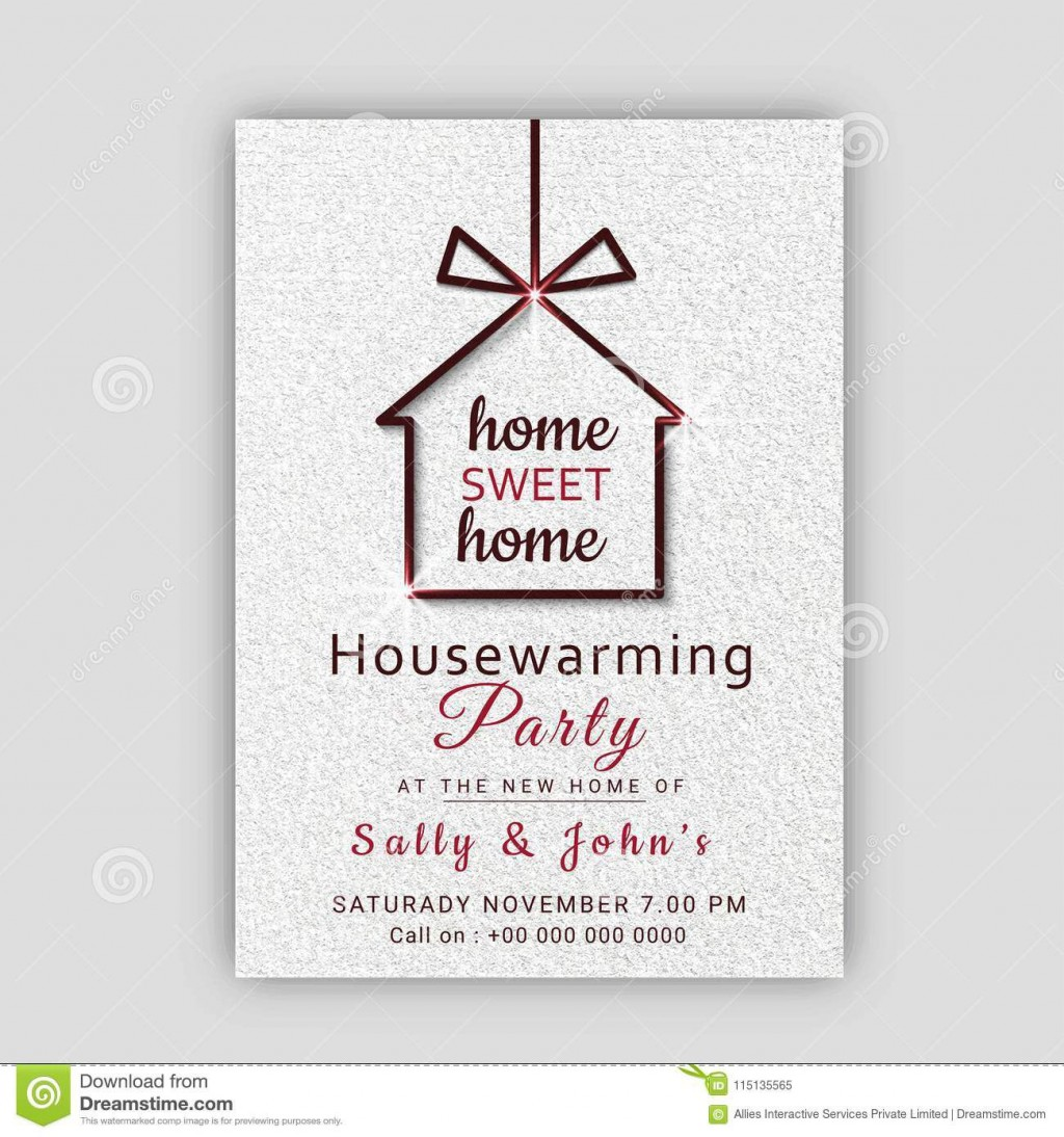 009 Stupendou Housewarming Party Invitation Template Inspiration  Templates Free Download CardLarge