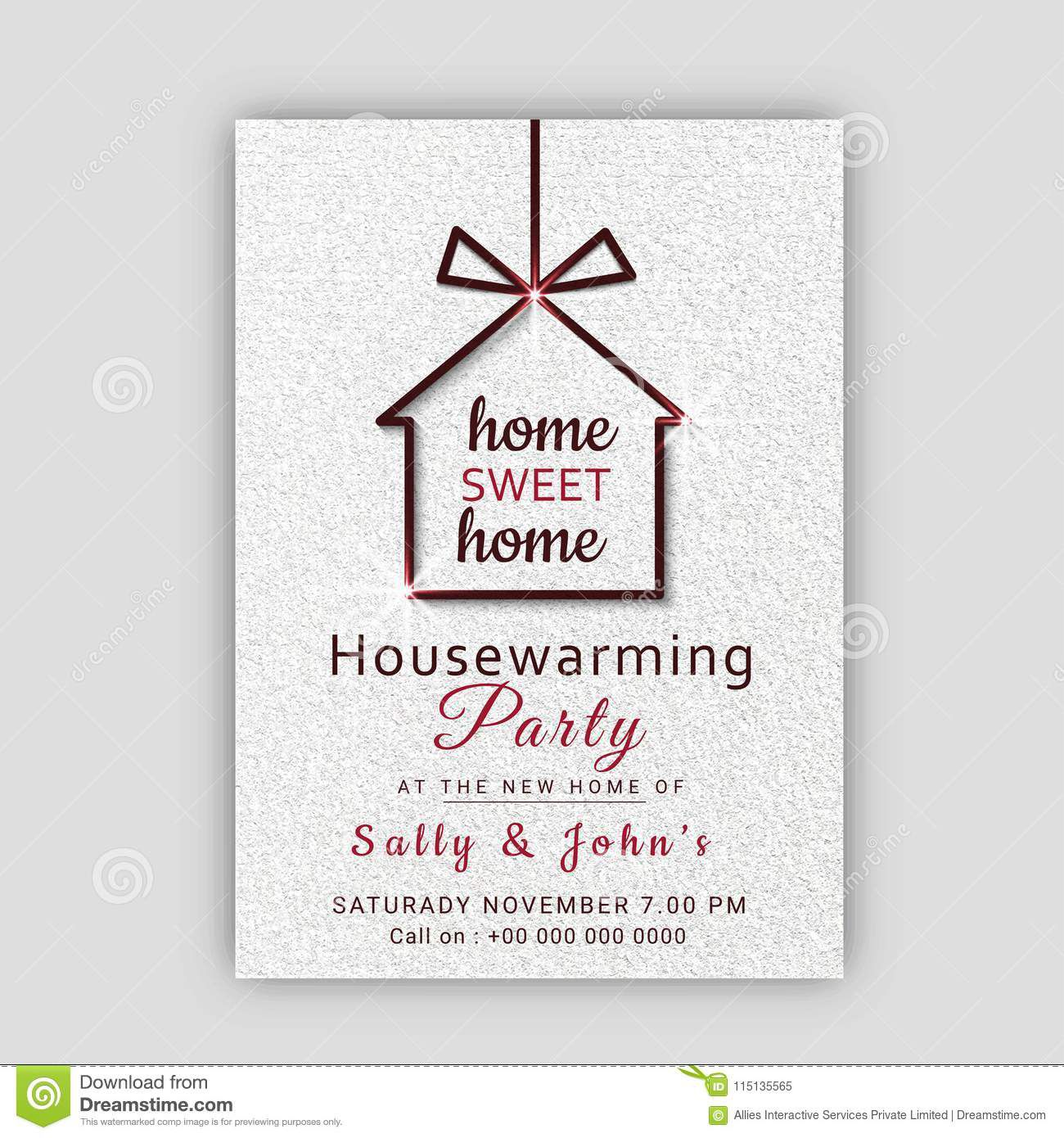 009 Stupendou Housewarming Party Invitation Template Inspiration  Templates Free Download CardFull