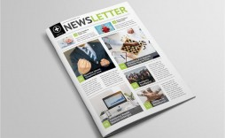 009 Stupendou Indesign Cs6 Newsletter Template Free Download Image