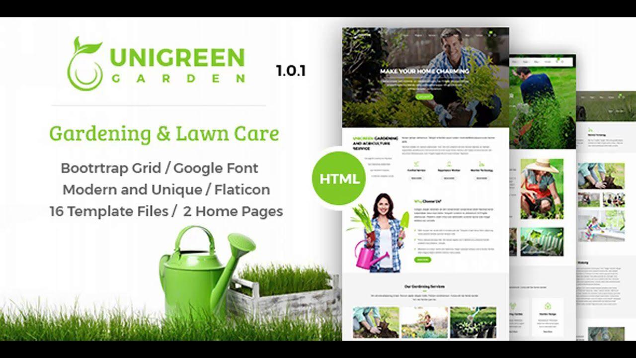 009 Stupendou Lawn Care Website Template Inspiration Full