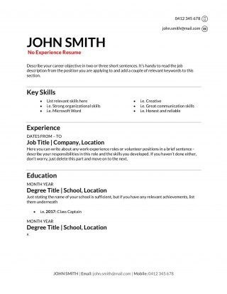 009 Stupendou Make A Resume Template Highest Clarity  Create For Free How To Good320