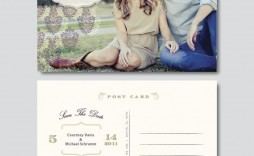 009 Stupendou Save The Date Template Photoshop Design  Adobe Card