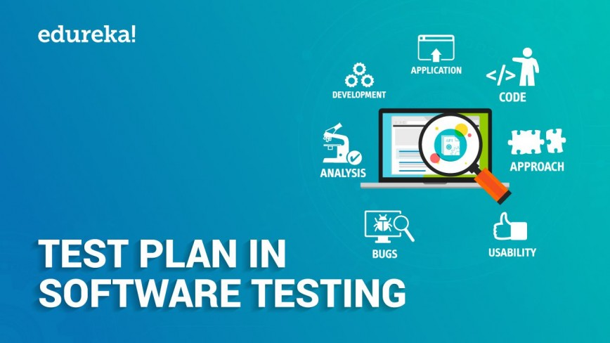 009 Stupendou Simple Software Test Plan Example Image  Template