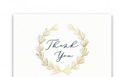 009 Stupendou Thank You Card Template Inspiration  Christma Word Wedding Reception Teacher Busines