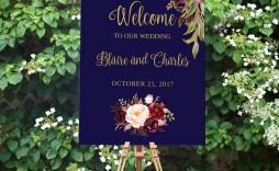 009 Stupendou Wedding Welcome Sign Printable Template Idea  Free