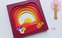 009 Surprising 3d Paper Art Template Inspiration  Templates Pdf