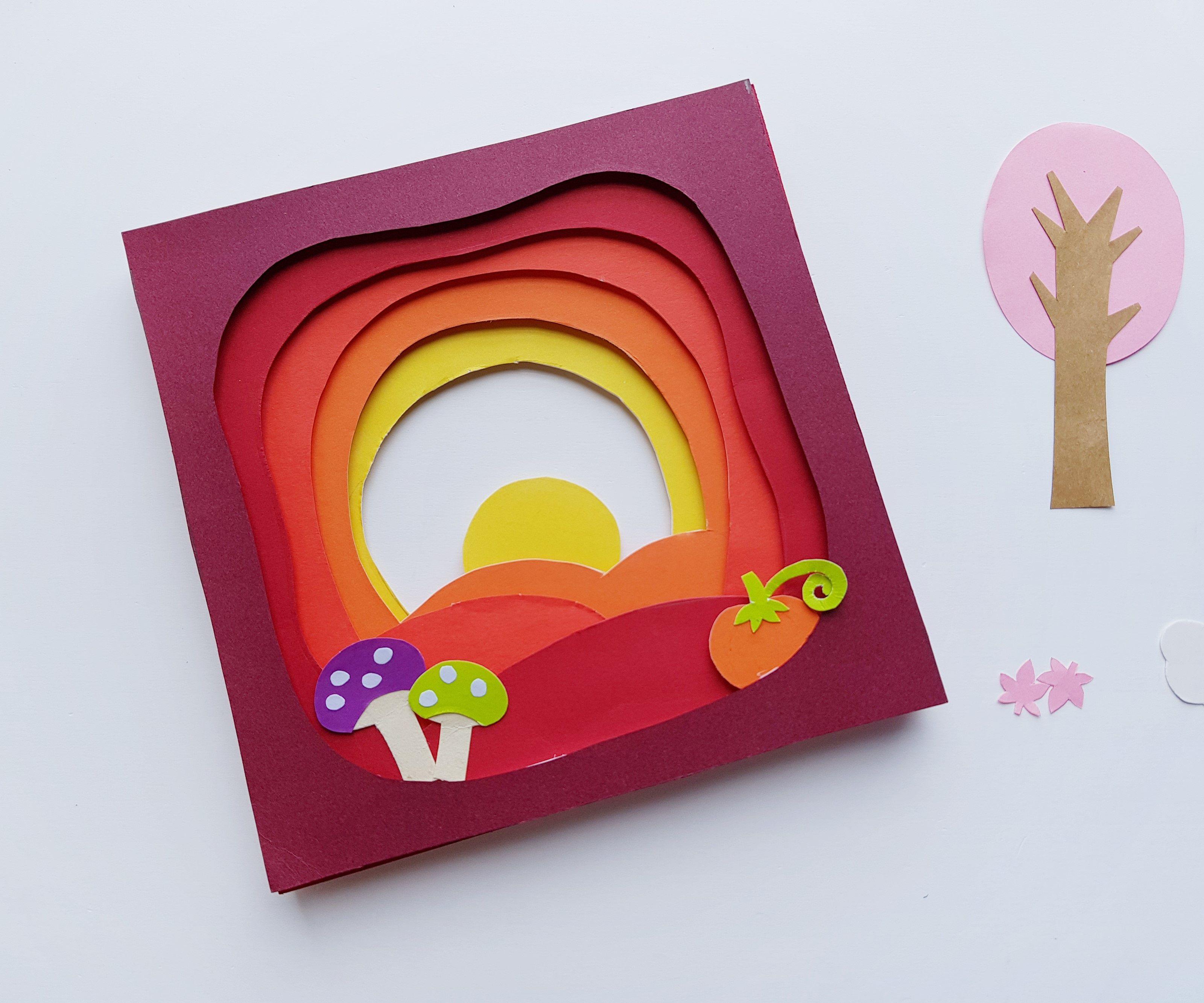 009 Surprising 3d Paper Art Template Inspiration  Templates PdfFull
