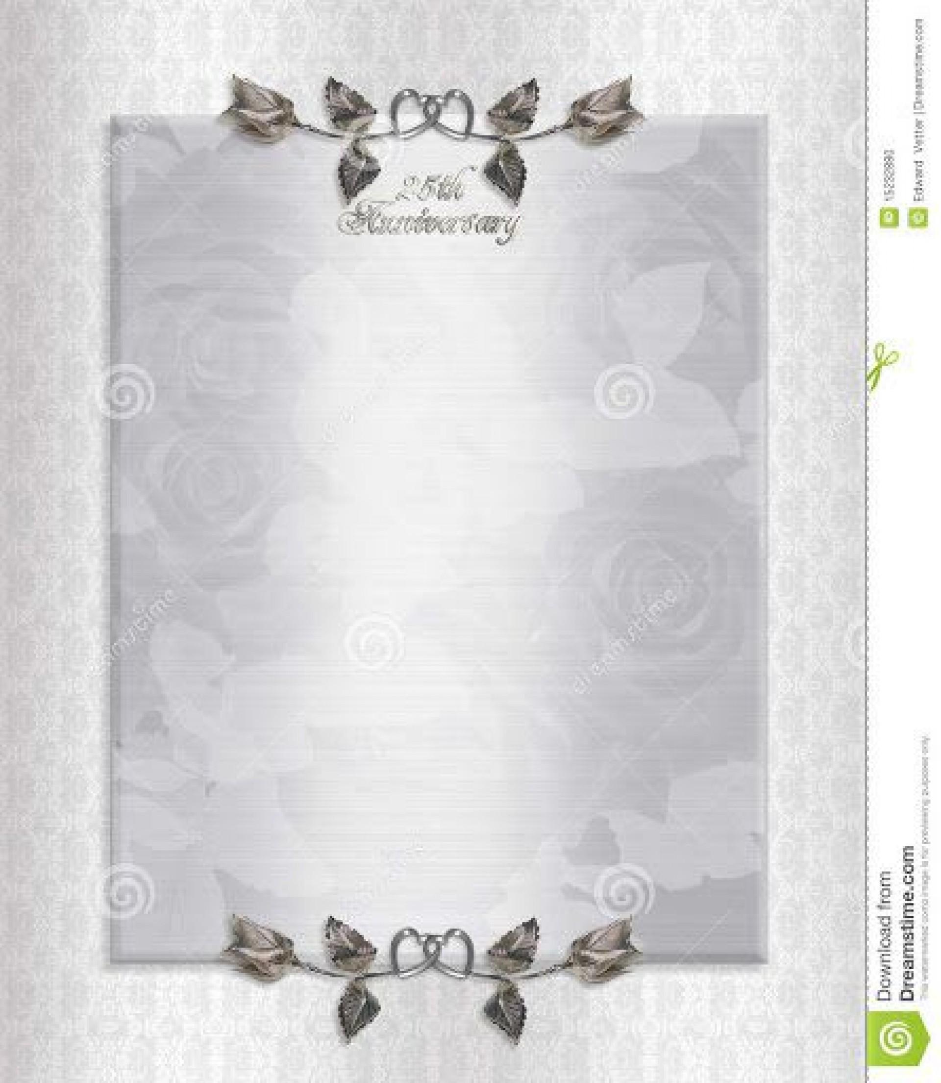 009 Surprising 50th Anniversary Invitation Template Free Concept  Download Golden Wedding1920