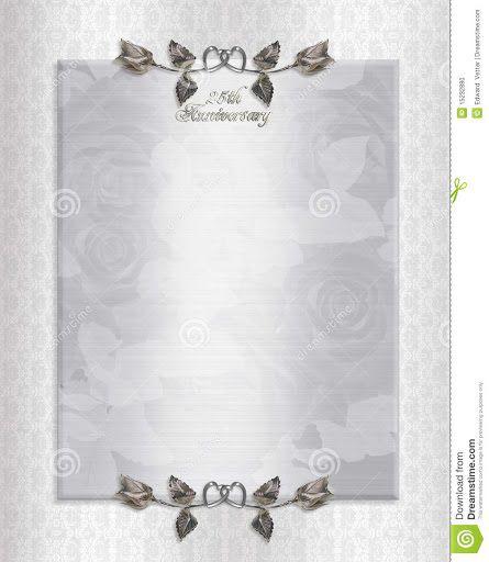 009 Surprising 50th Anniversary Invitation Template Free Concept  Download Golden WeddingFull
