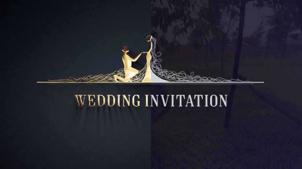 009 Surprising After Effect Wedding Template High Definition  Templates Free Download Cc InvitationLarge