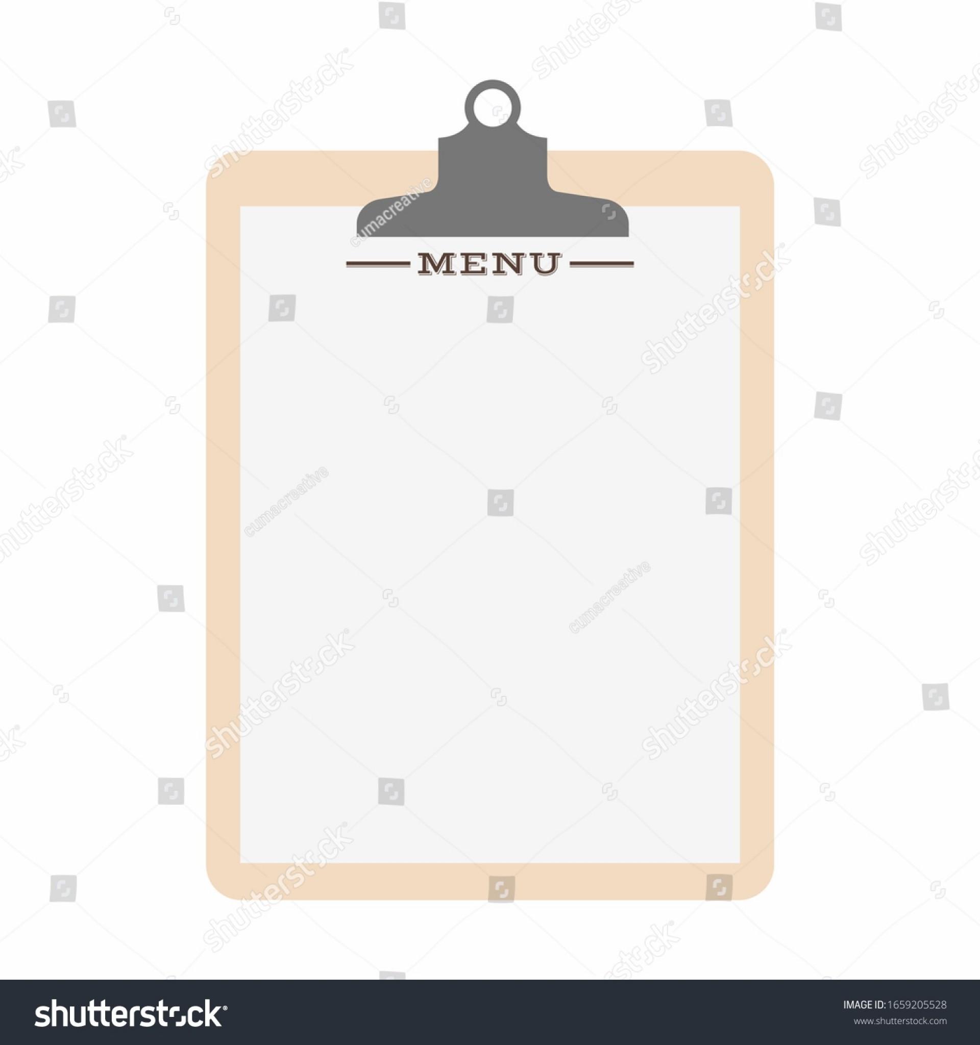 009 Surprising Blank Restaurant Menu Template Inspiration  Free Printable Downloadable1920
