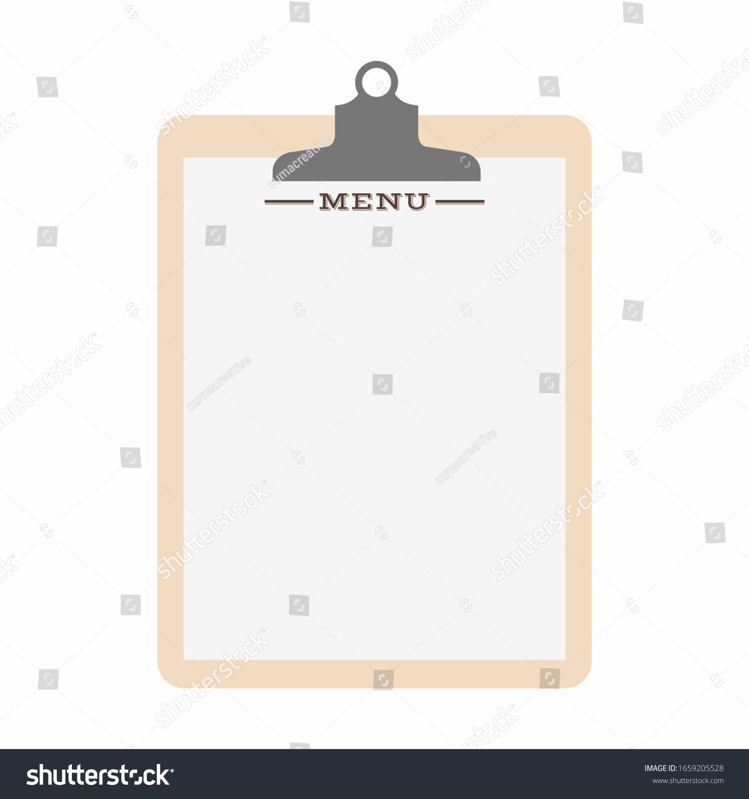 009 Surprising Blank Restaurant Menu Template Inspiration  Free Printable DownloadableFull