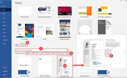 009 Surprising Format Brochure Word 2007 Example