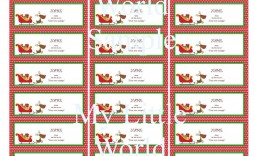 009 Surprising Free Christma Addres Label Template Avery 5160 High Def