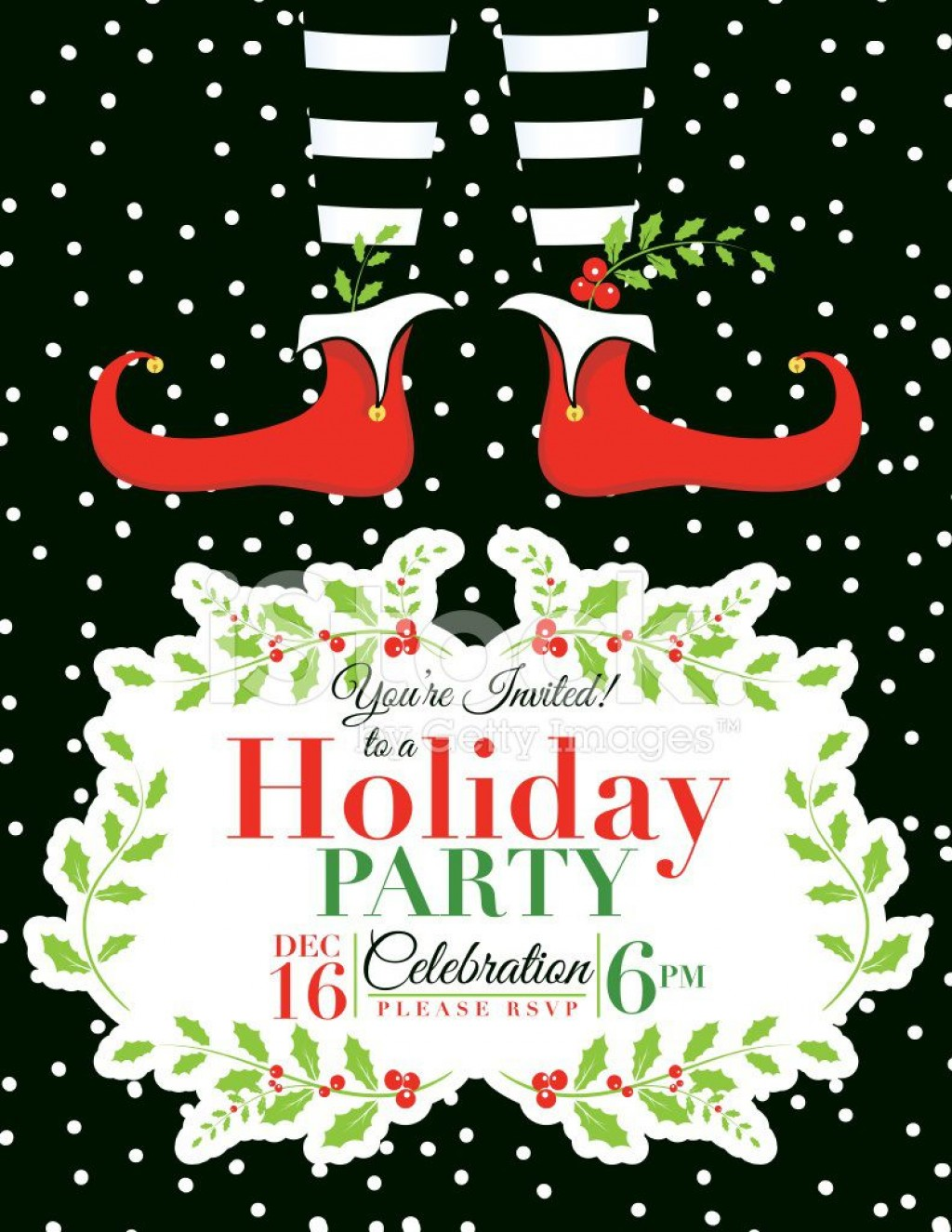 009 Surprising Free Holiday Party Invitation Template Concept  Templates Printable Downloadable Christma OnlineLarge