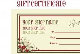 009 Surprising Free Printable Template For Gift Certificate Inspiration  Voucher