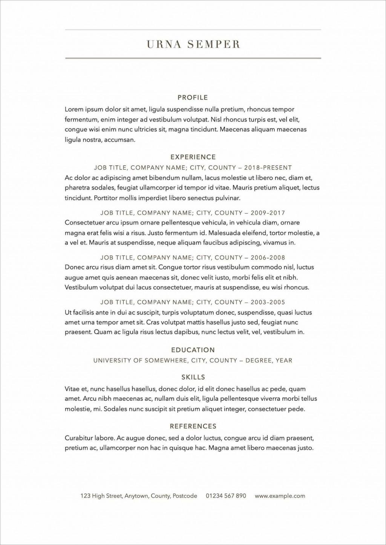 009 Surprising Free Resume Template 2018 Printable Photo Large