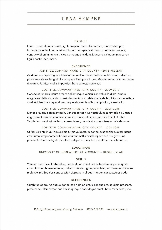 009 Surprising Free Resume Template 2018 Printable Photo 1920
