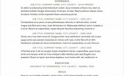 009 Surprising Free Resume Template 2018 Printable Photo