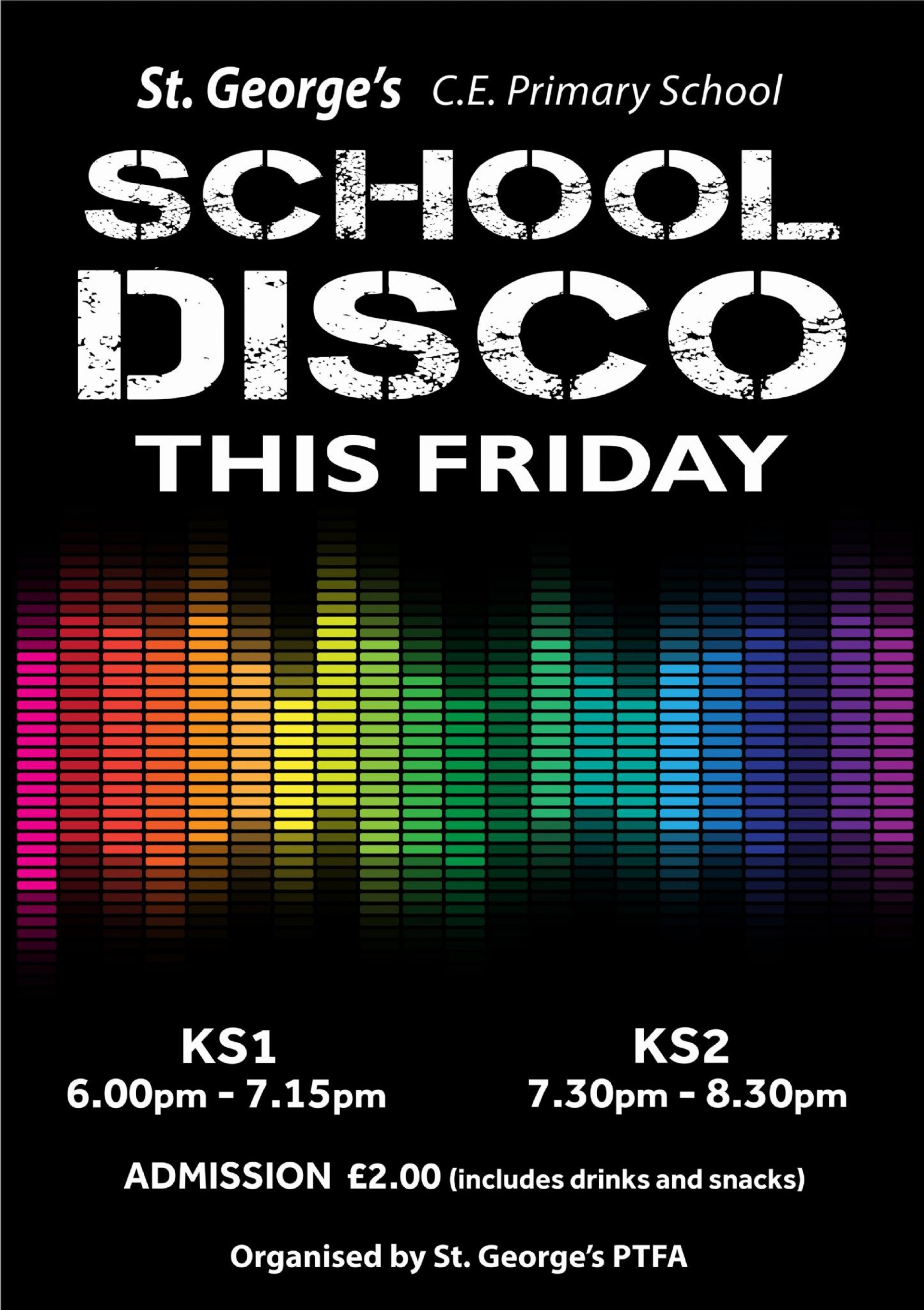 009 Surprising Free School Disco Flyer Template Example  Templates Poster1920