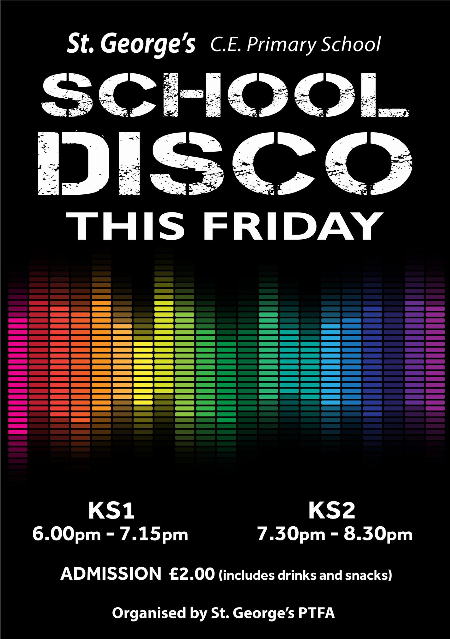 009 Surprising Free School Disco Flyer Template Example  Templates PosterFull