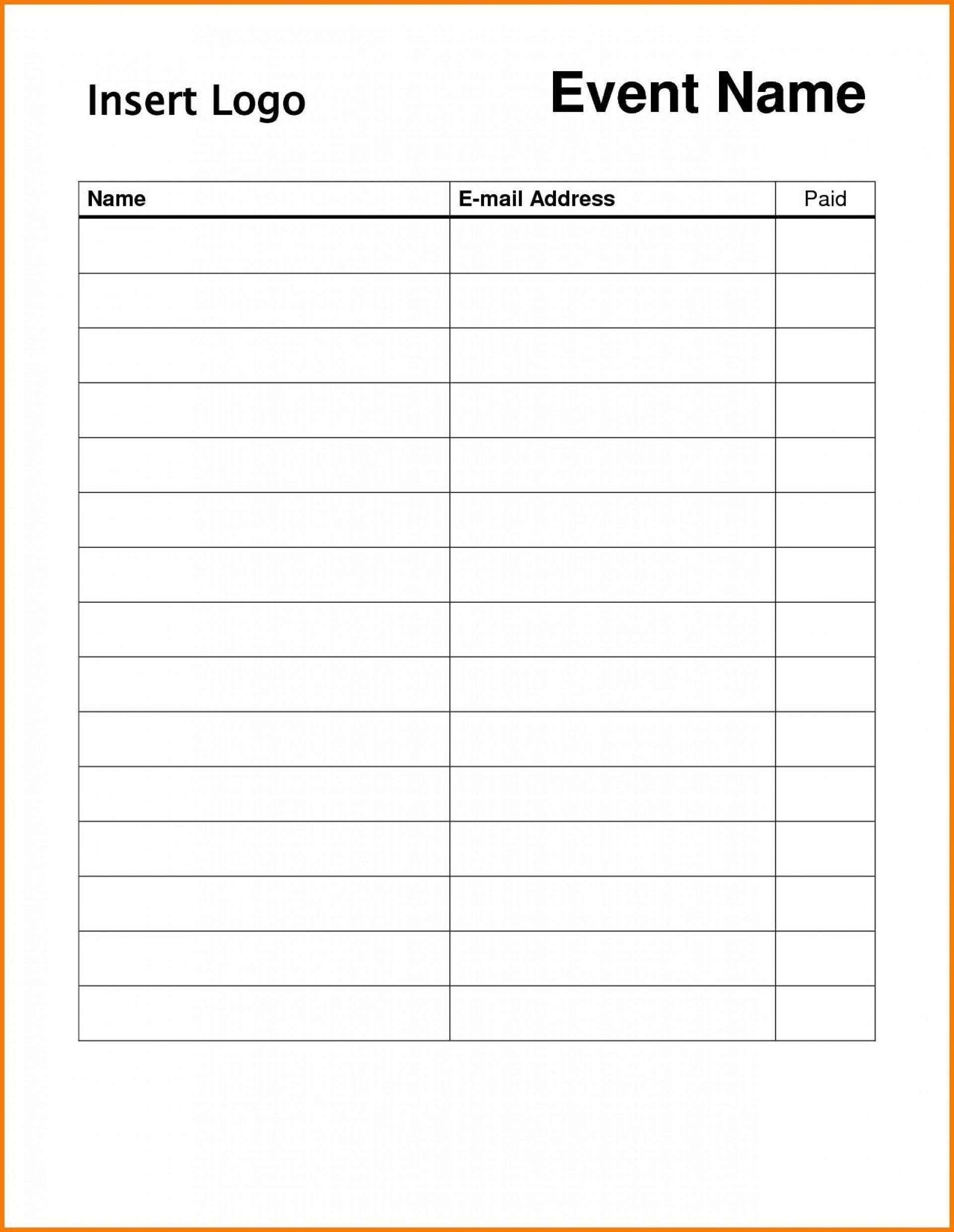 009 Surprising Free Sign Up Sheet Template Photo  Printable Potluck Word Blank Google Doc1920