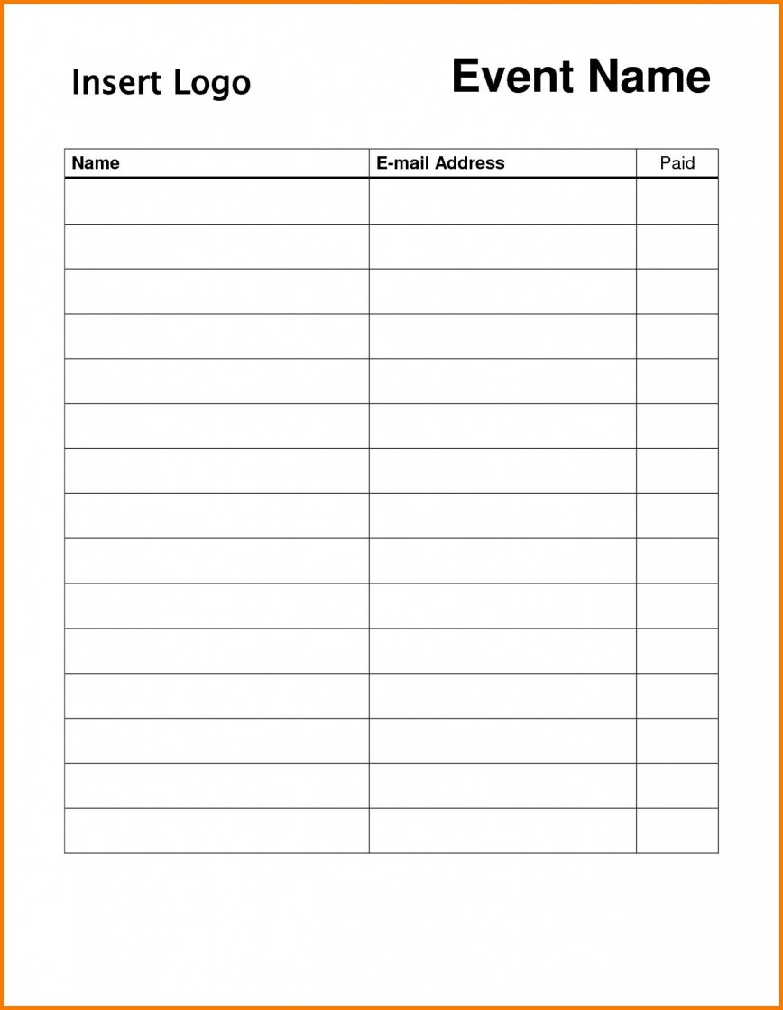 009 Surprising Free Sign Up Sheet Template Photo  Printable Potluck Christma For Pdf