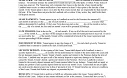 009 Surprising Free Template For Rent Agreement Picture  To Own House Rental