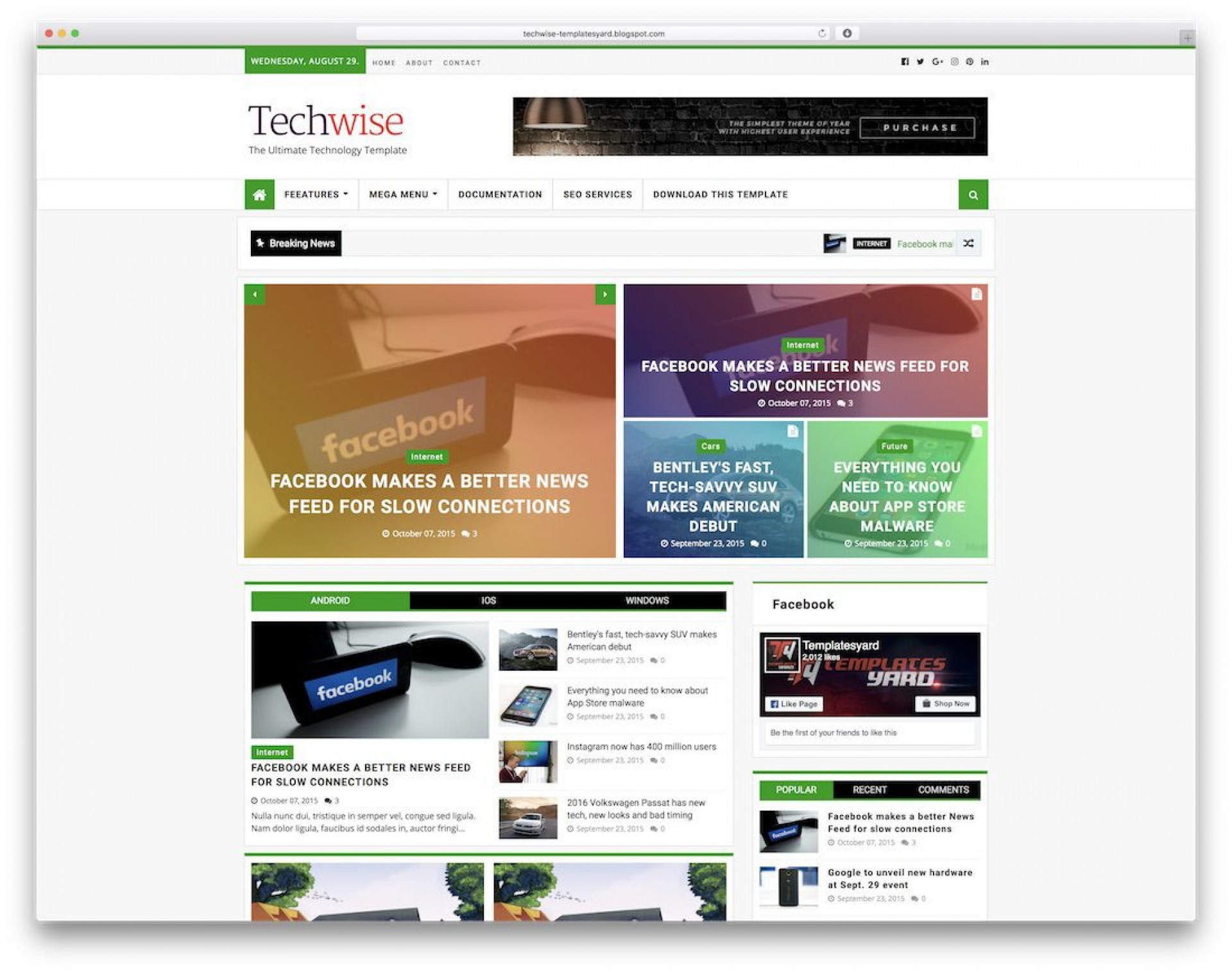 009 Surprising Free Template For Blogger Highest Clarity  Blog Best Photographer Xml Download1920
