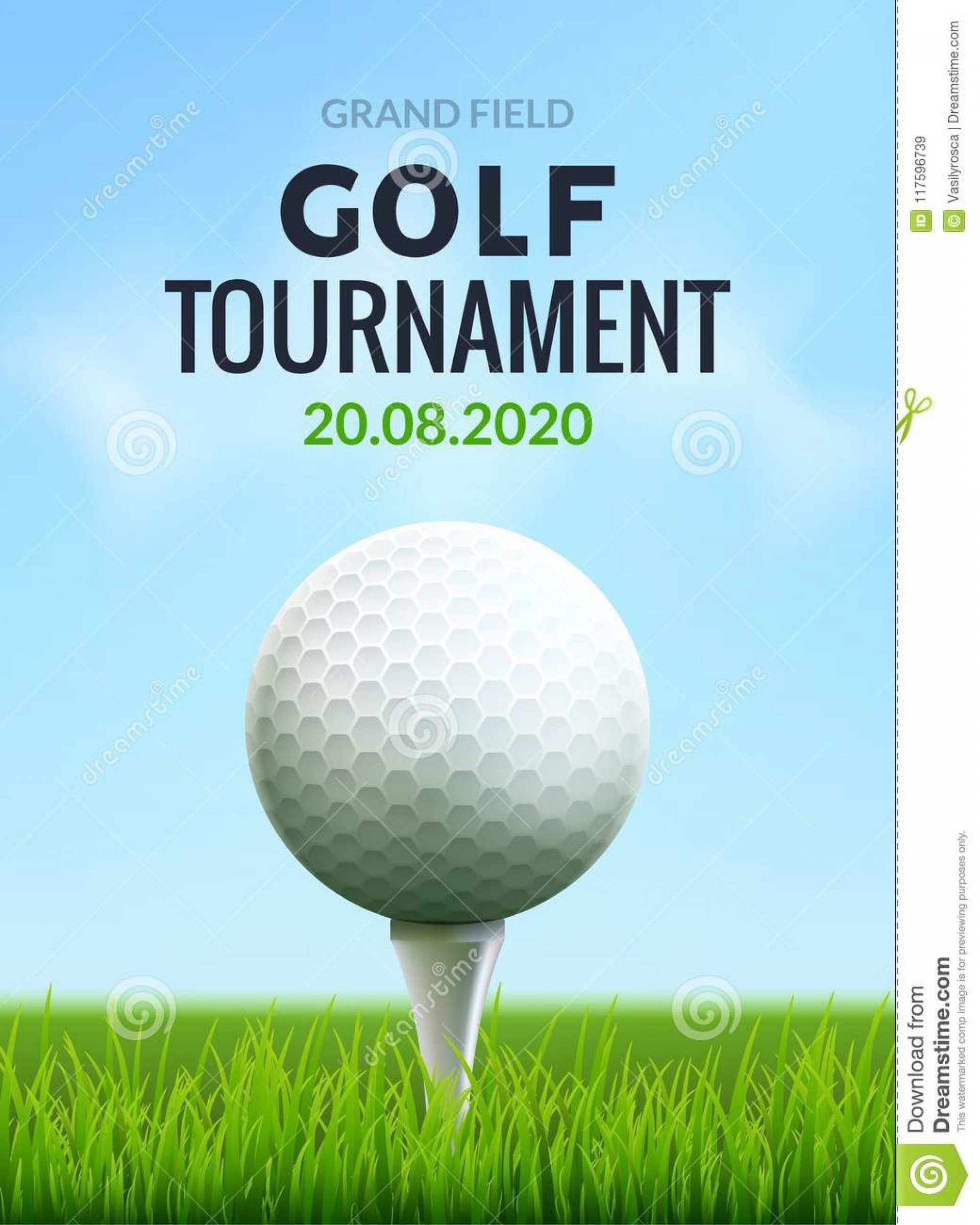 009 Surprising Golf Tournament Flyer Template Highest Clarity  Word Free Pdf1920