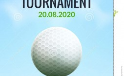009 Surprising Golf Tournament Flyer Template Highest Clarity  Word Free Pdf