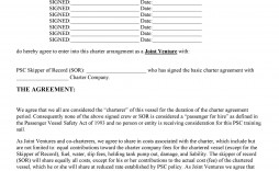 009 Surprising Joint Venture Agreement Template High Definition  South African Doc Uk Property Development