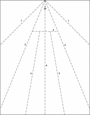009 Surprising Printable Paper Airplane Pattern Example  Free Plane Design Designs-printable Template360