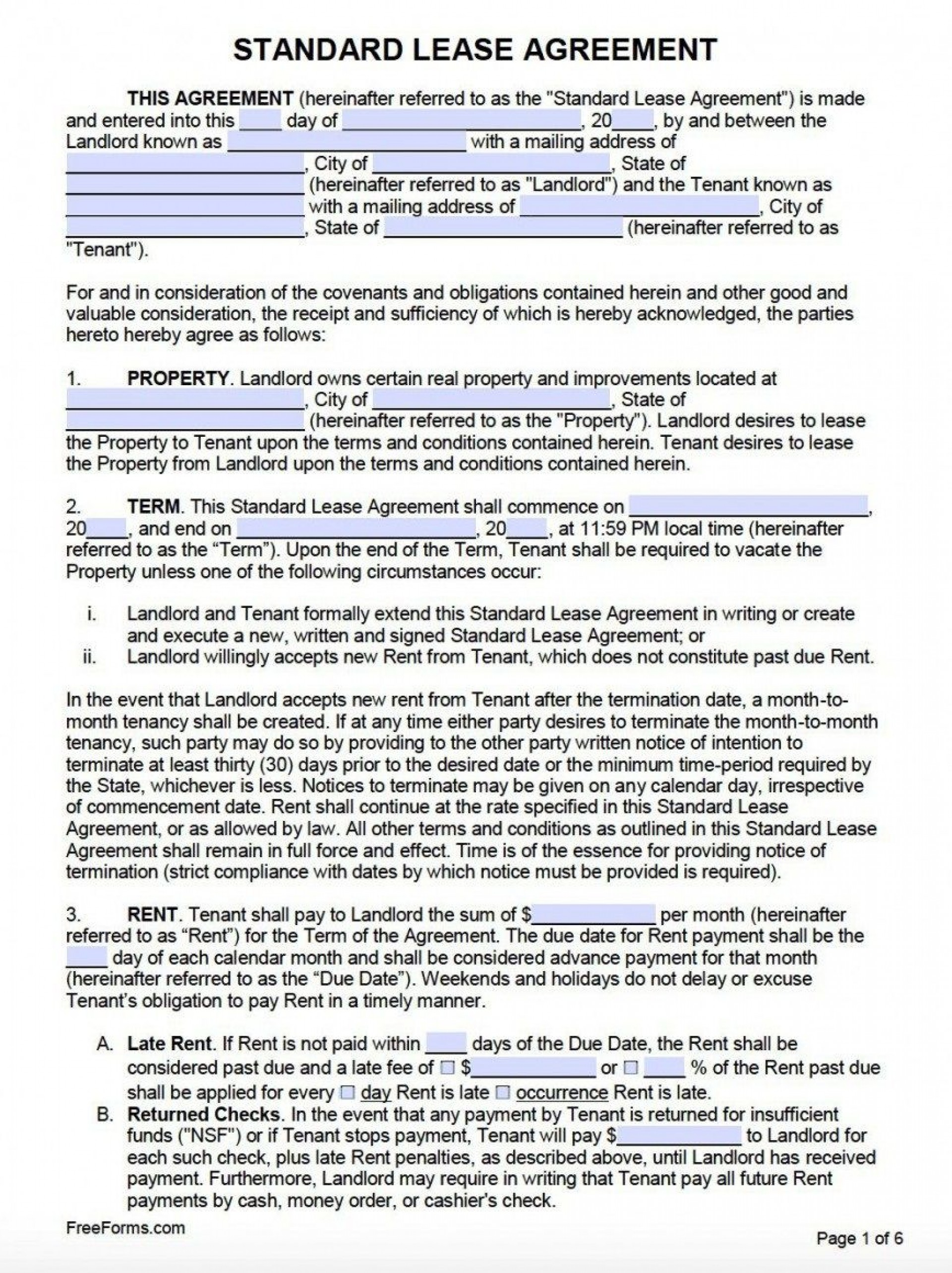 009 Surprising Rental Agreement Template Word Canada Highest Clarity 1920