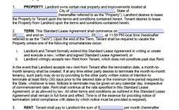 009 Surprising Rental Agreement Template Word Canada Highest Clarity