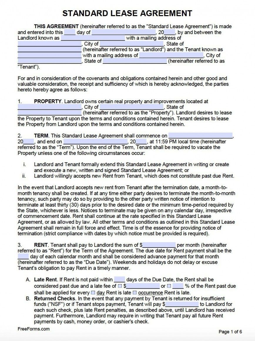 009 Surprising Rental Agreement Template Word Canada Highest Clarity Full