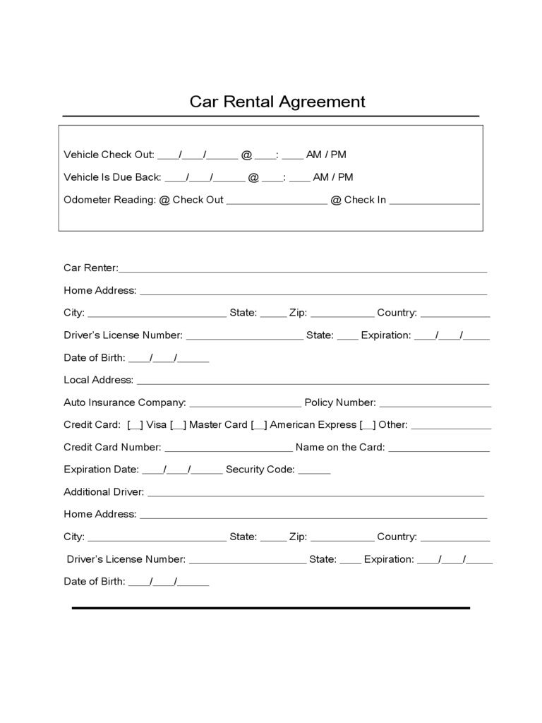 009 Top Car Lease Agreement Template High Definition  Vehicle Ontario Rental Singapore LeasingFull