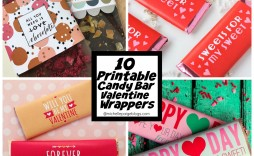 009 Top Chocolate Bar Wrapper Template Free Picture  Candy For Valentine' Day Valentine Birthday