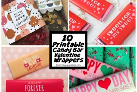 009 Top Chocolate Bar Wrapper Template Free Picture  Printable Hershey Candy Valentine