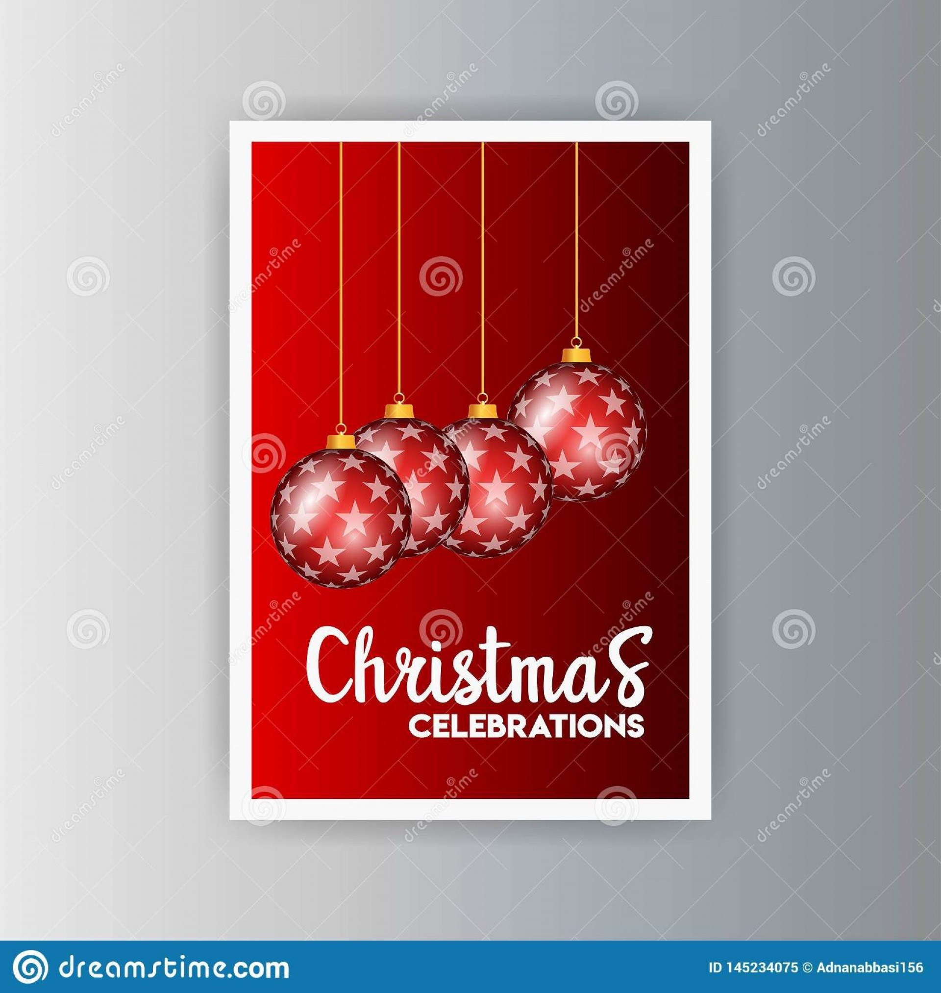 009 Top Christma Party Flyer Template Free Highest Clarity  Company Invitation Printable Word1920