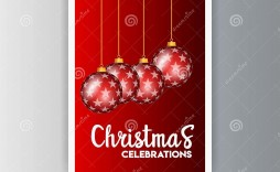 009 Top Christma Party Flyer Template Free Highest Clarity  Company Invitation Printable Word