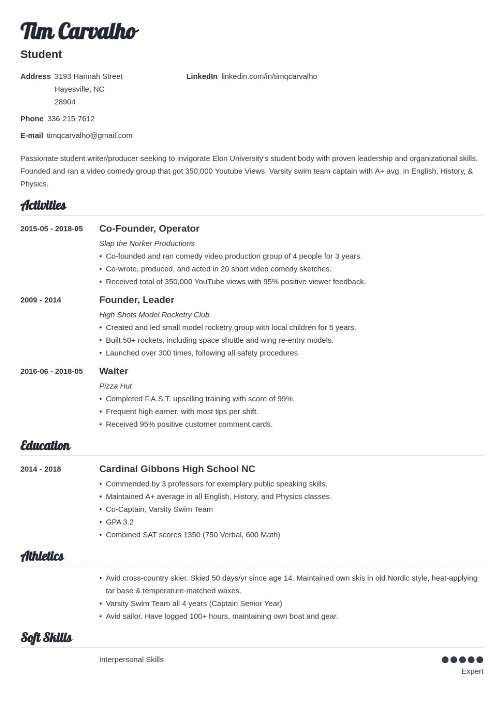 009 Top College Admission Resume Template High Def  Microsoft Word Application DownloadLarge