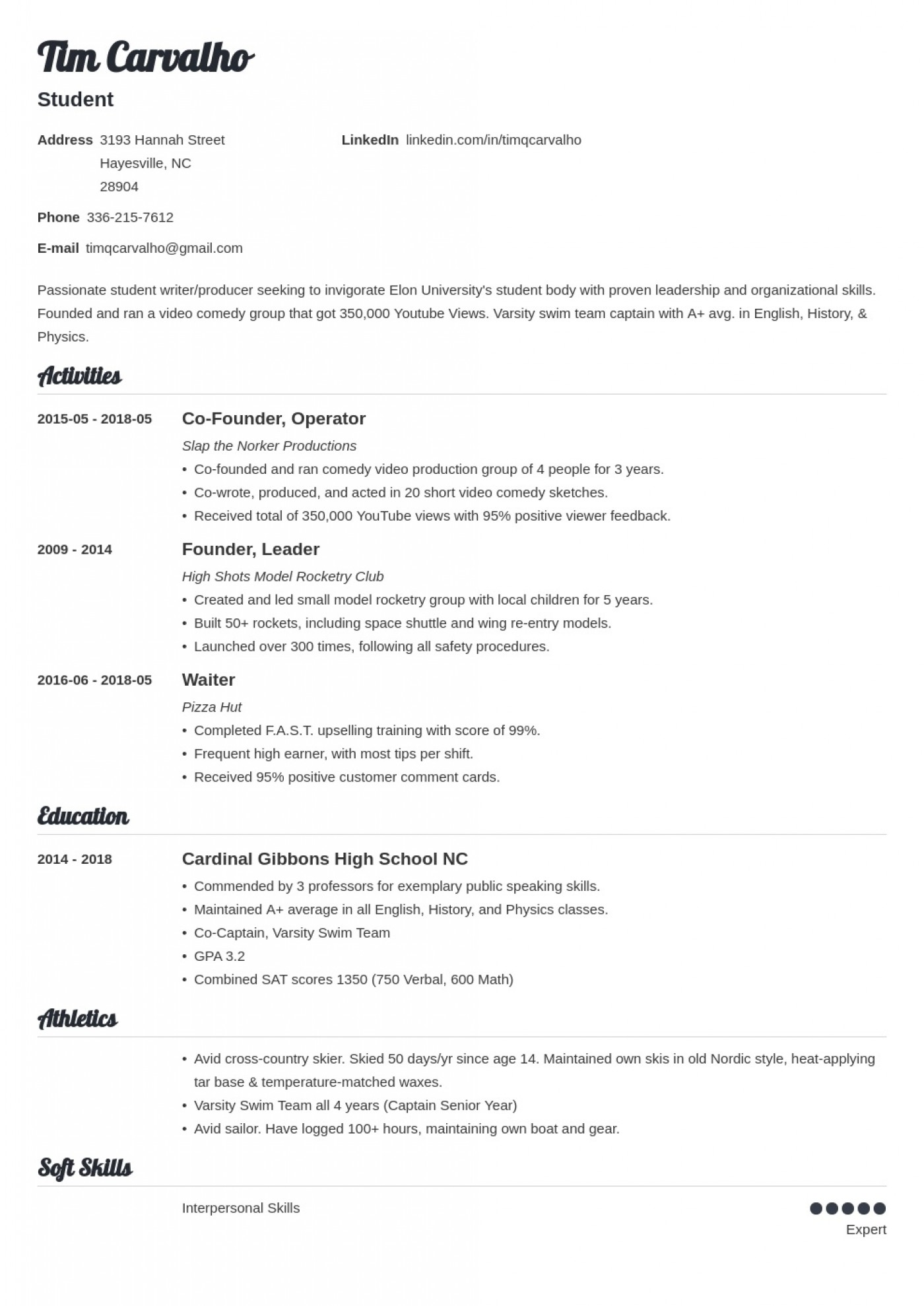 009 Top College Admission Resume Template High Def  Microsoft Word Application Download1400
