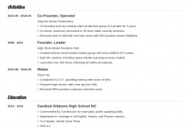 009 Top College Admission Resume Template High Def  Microsoft Word Application Download