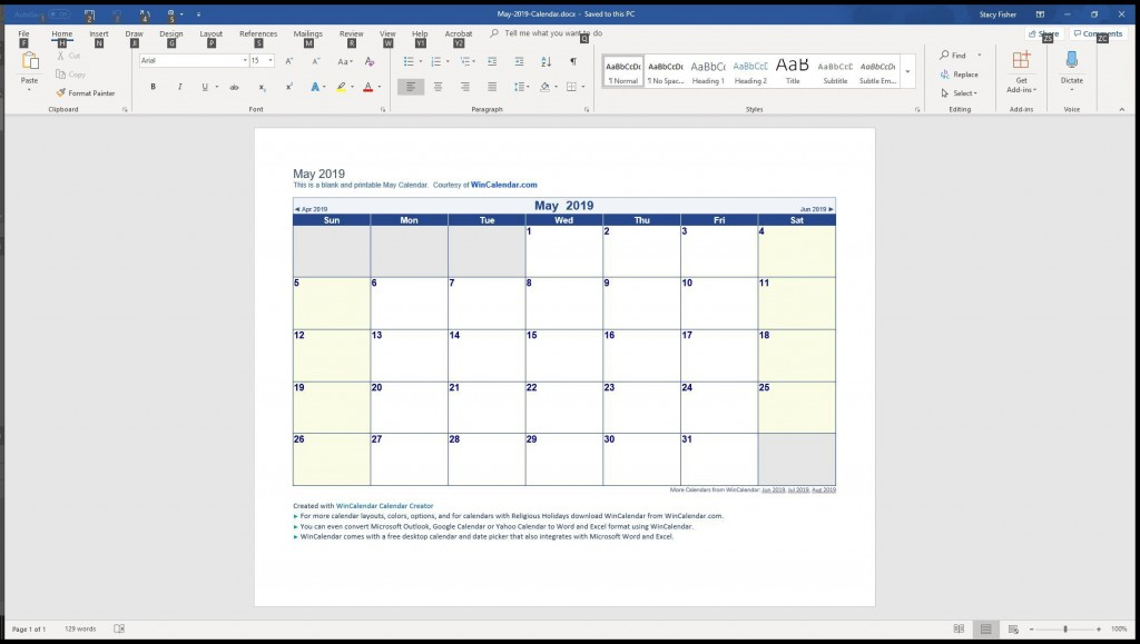 009 Top Download Calendar Template For Word 2007 Inspiration Large