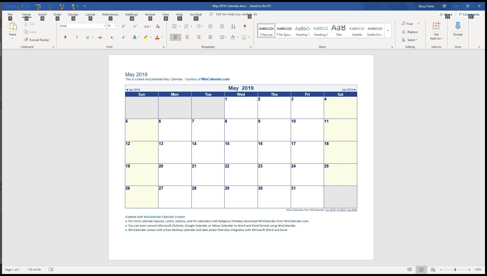009 Top Download Calendar Template For Word 2007 Inspiration Full