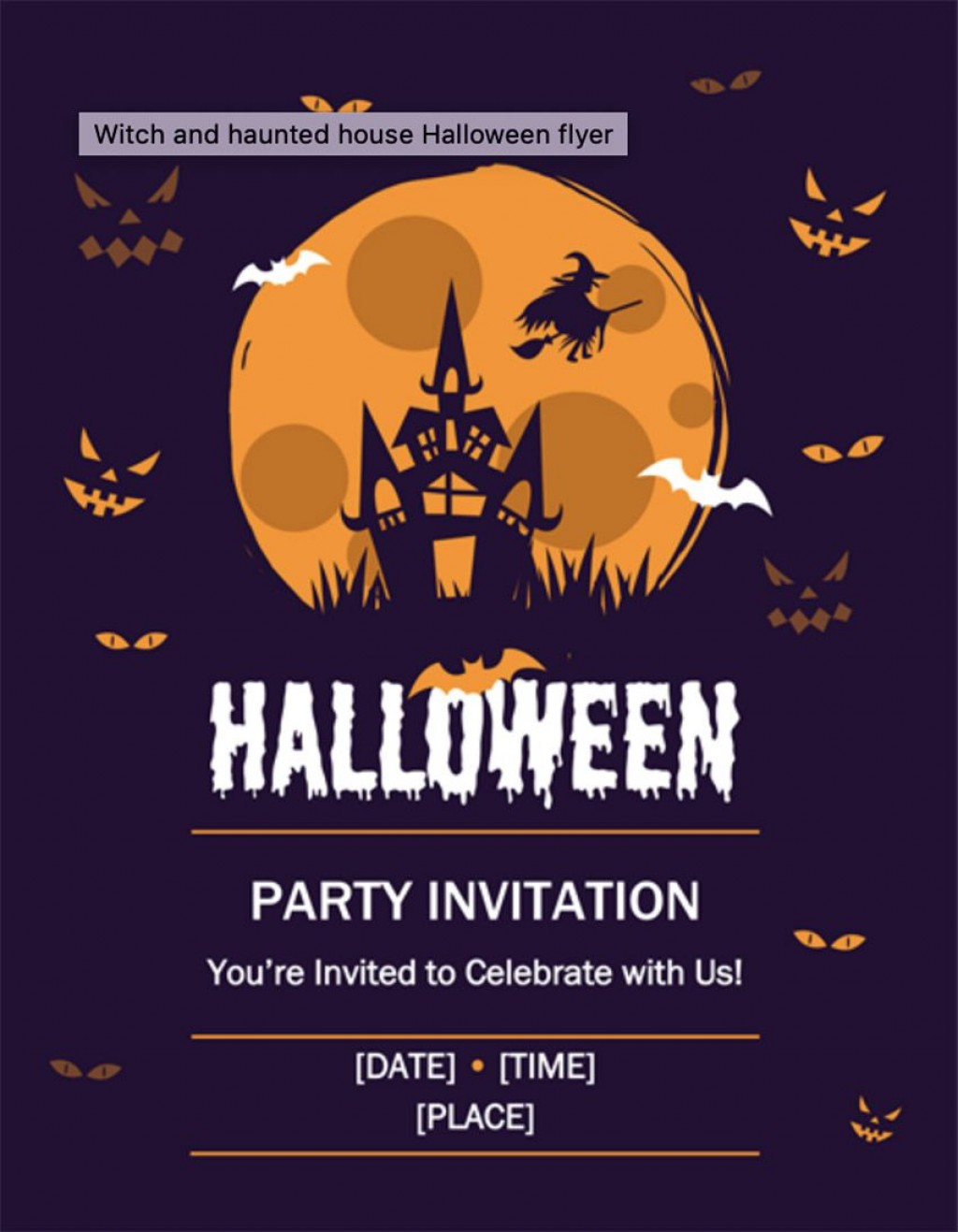 009 Top Event Flyer Template Free Word Example Large