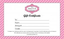 009 Top Free Printable Birthday Gift Voucher Template Idea