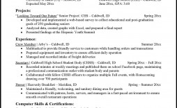 009 Top Freshman College Student Resume Template High Resolution  For With Little Work Experience Free