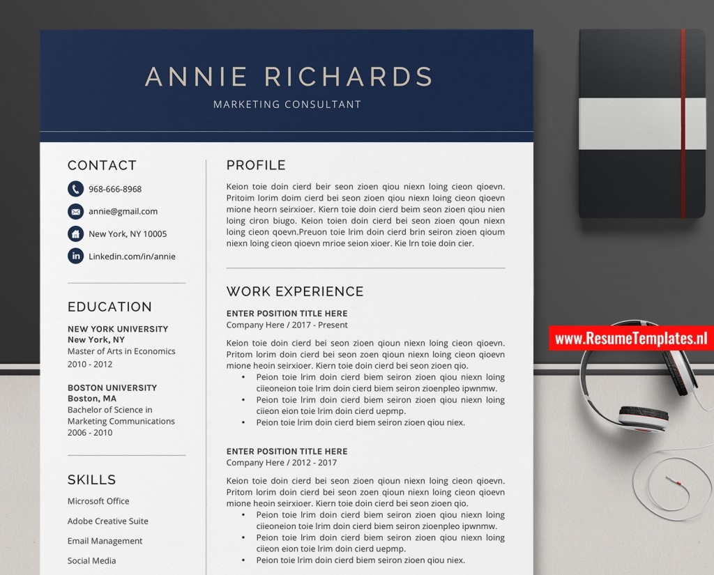 009 Top Microsoft Word Resume Template Download Sample  Modern M Free Office 2007Large